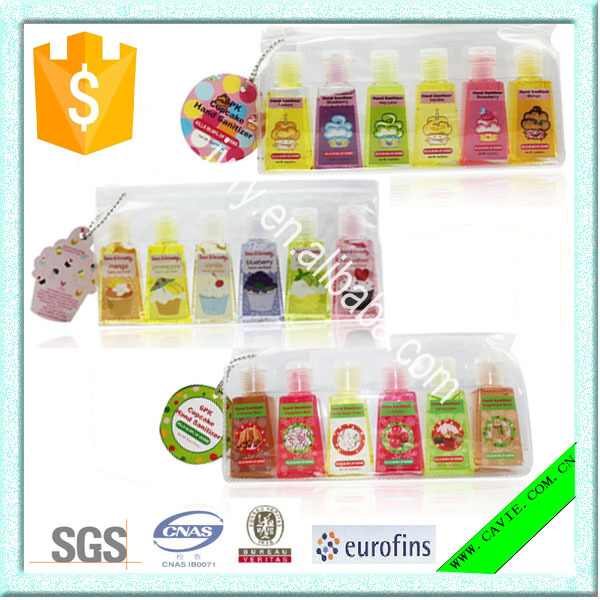 1OZ 29ML Wholesale Portable Anti-bacterial Hand Wash Hand Sanitizer With Silicone Holder