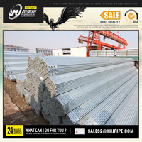 HOT dipped galvanized steel pipe/GI square steel pipe/tube structure building material