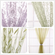 New environmental protection organza curtain modern design