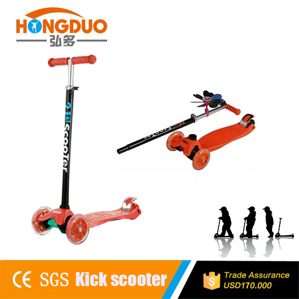 2016 hot sale kids snow pedal foot bablance kick scooter