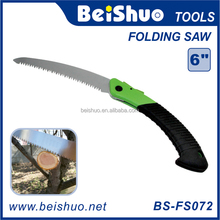 "BS-FS072 6"" Blade Heavy Duty Stainless Folding Pruning Saw Foldable Garden Pruner"