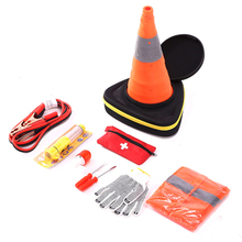 High level road tools portable emergency car repair auto emergency kit