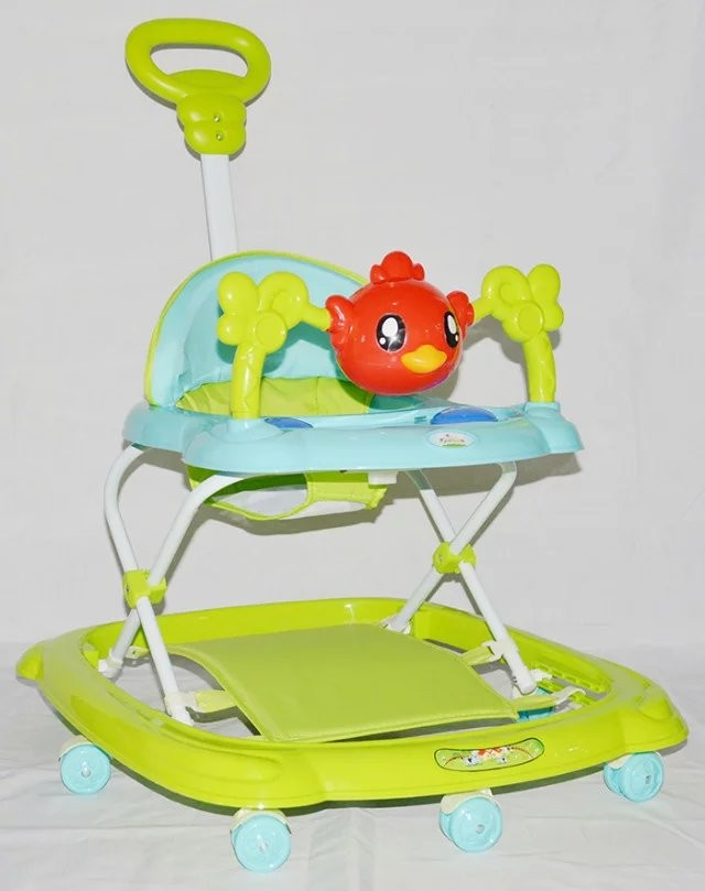 2016 china hot selling cheap baby walker,old fashion baby walker price made in china with push bar