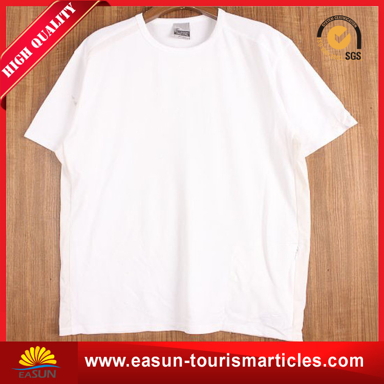 wholesale slim fit viscose t shirt terry cloth for men made in china