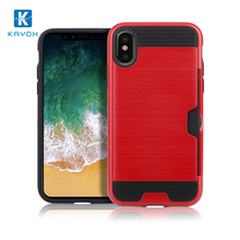 [kayoh]cheap new products good quality insert card mobile phone case Dual Layer Bumper phone covers for for iphone 8