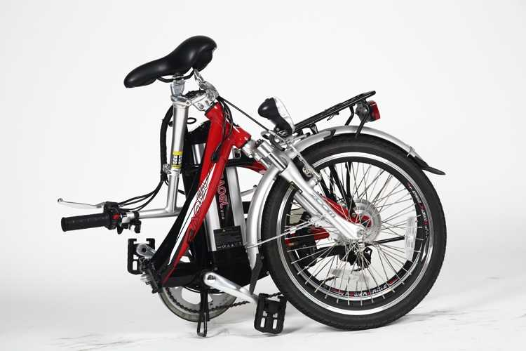 "26"" mini electric folding bike delta recumbent tricycle"