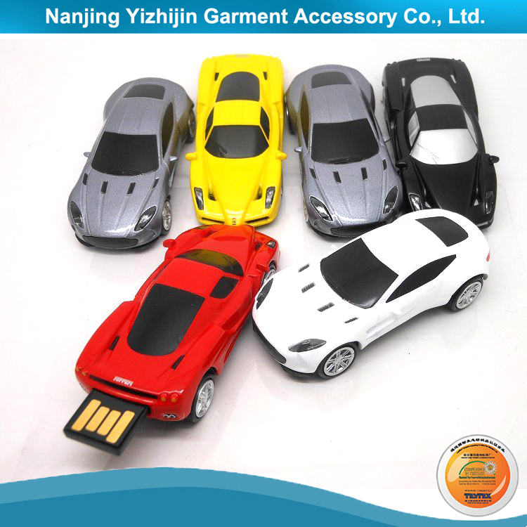 Car Shaped Plastic Case USB Flash Drive 2TB Capacity