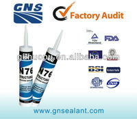 270ml construction neutral silicone sealant cartridge