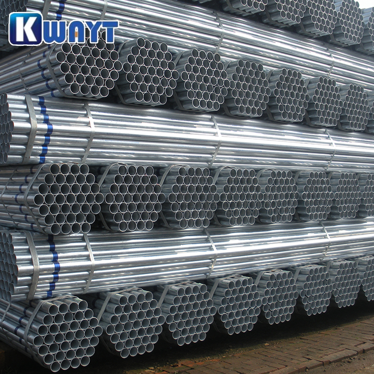 Factory Directly Wholesale High Quality Hot Dip GI BS 1387 Galvanized Pipe
