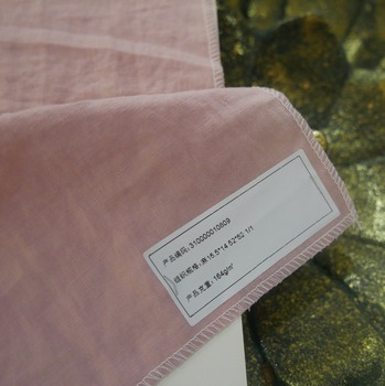 Linen and cotton women shirt and curtains fabric