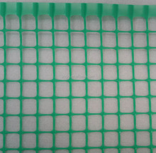 Plastic extruded square mesh net machine