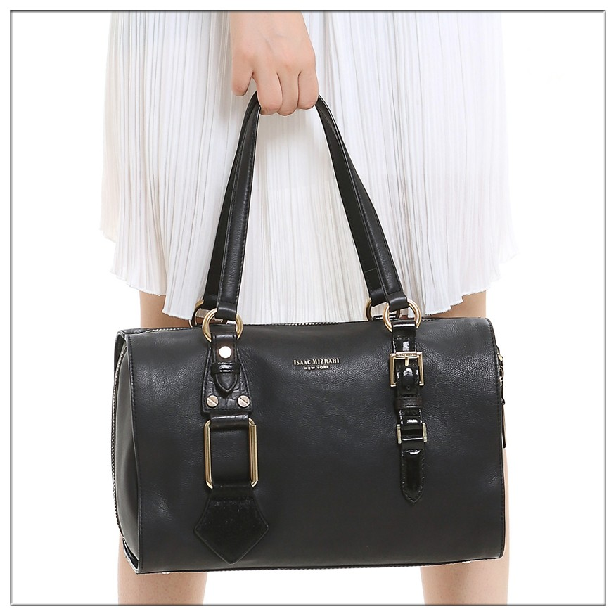 Large Satchel Cheap Clear Leather Handbags Made in Thailand Document Bag for Women