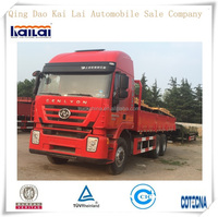 Brand new Hongyan Genlyon 6x4 10 wheel lorry truck cargo truck for sale