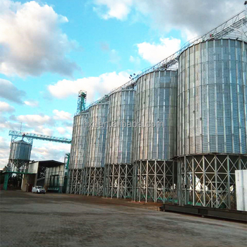 corrugated steel grain storage silo for sale