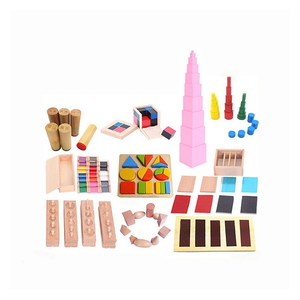 Children's educational toys home edition sensorial material montessori