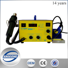 YAOGONG YG-852+ LED Digital Display SMD 2 In 1 station soldering rework station welding machine