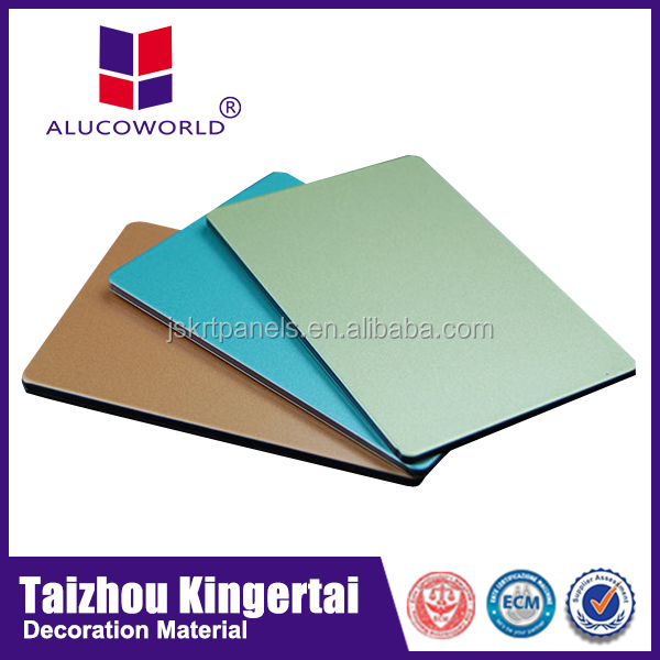 Alucoworld wood plastic composite wall panel gypsum board partition