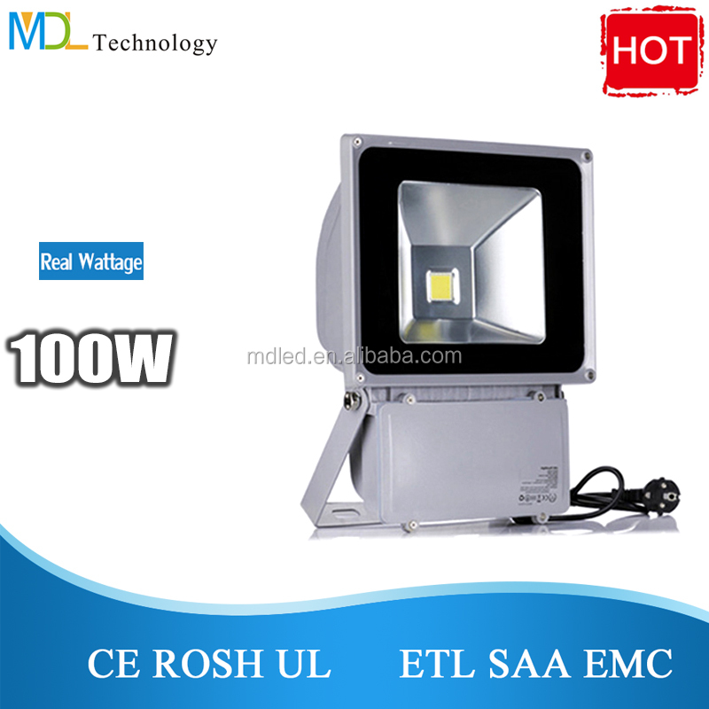 3 years warranty UL CE ROHS TUV SAA 50w 70w 100w RGB outdoor led flood light AC85-265/ 12v