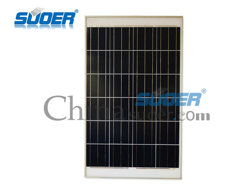 Suoer Hot Sale 12V 100W High Efficiency Flexible Polycrystalline portable solar panel