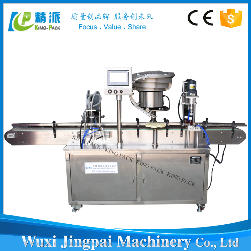 Fully Automatic Filling Bottles Capping Machine For Gel Body Cream Liquid Cosmetic