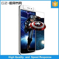 Superior Quality 2.5D Round Edge 5 Inich Mobile Phone Anti Shock Tempered Glass Screen Protector for OPPO N1 MINI