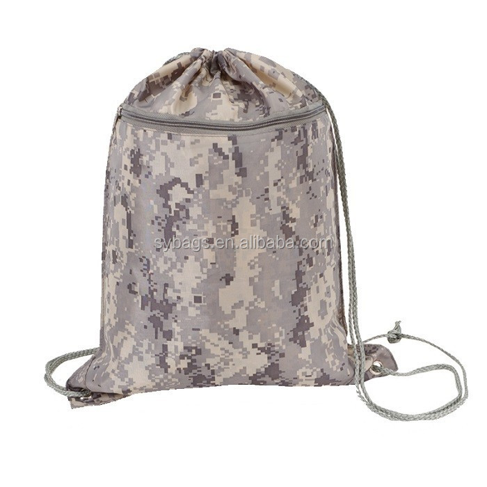 Camouflage Drawstring Bag Wholesale Made in China