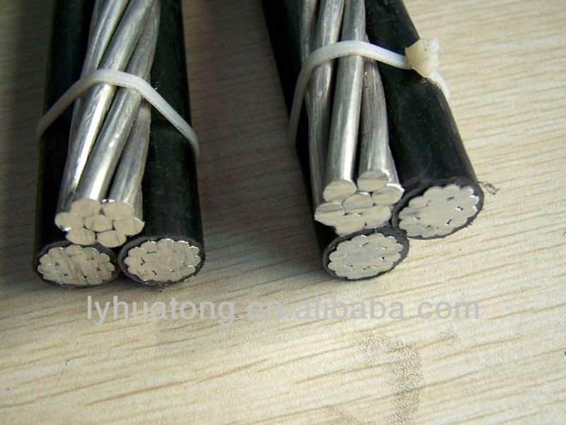 Low Voltage ABC Cable Aerial Bundled Conductors XLPE Insulation overhead conductor