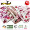 American market hot sale 100% mixed color cotton hand knitting yarn