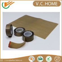 China supplier fireproofing teflon tape with adhesive teflon tape