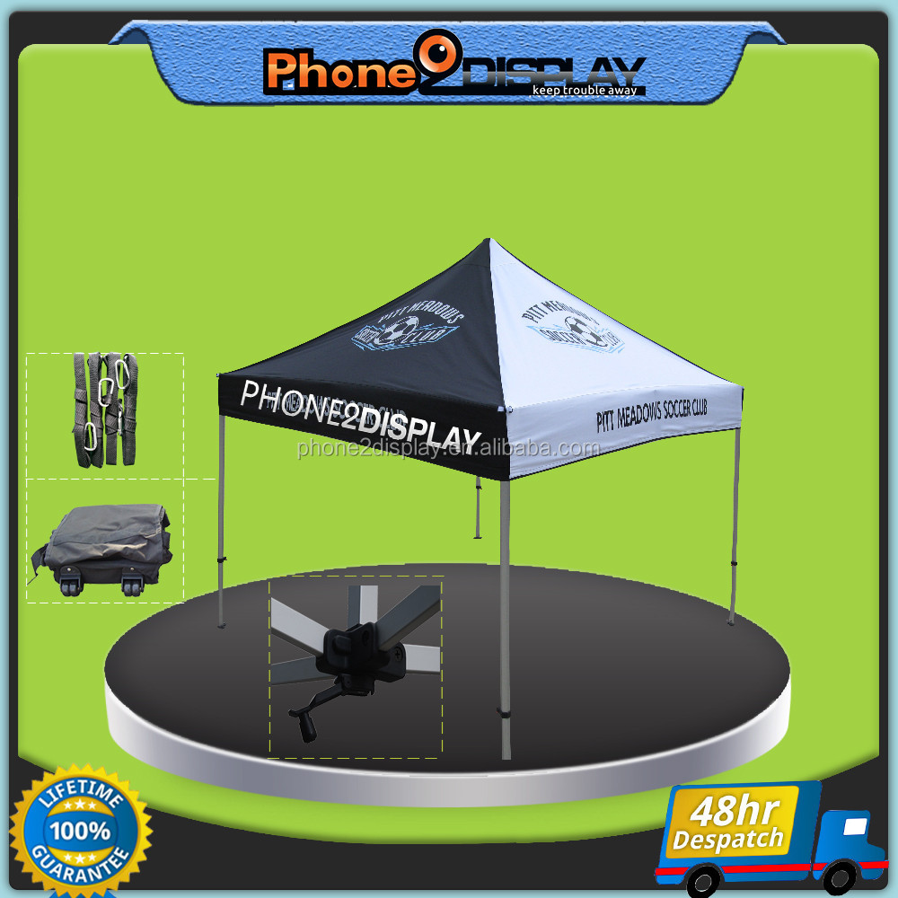 10ft 3*3 easy up free design folding gazebo advertising pop up tent