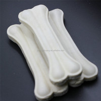 3 inch bulk high-calcium white rawhide pressed dog food