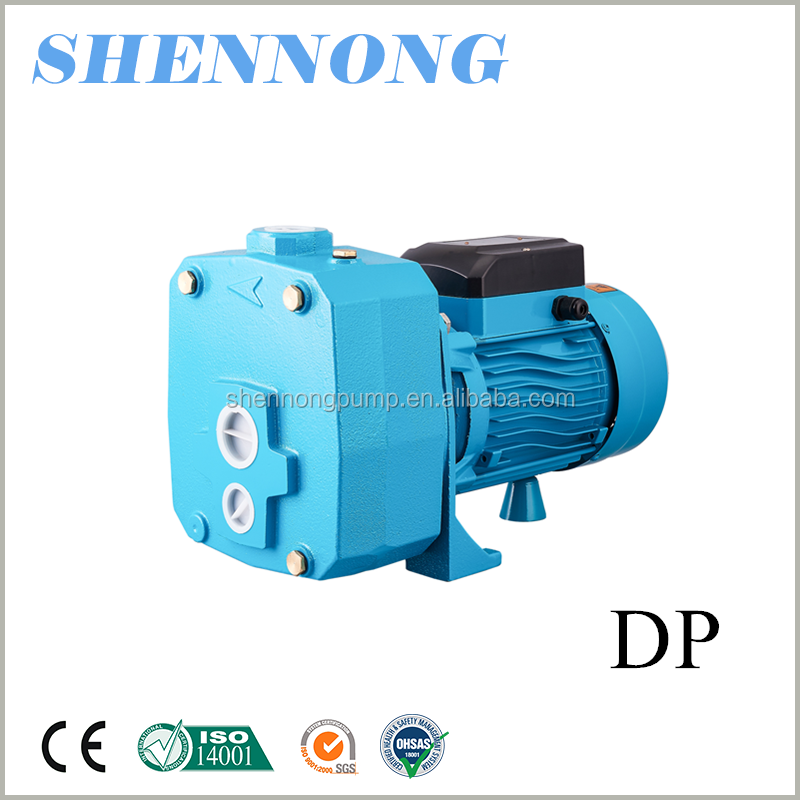 Standard or Nonstandard double pipe 0.75hp self-priming JET pump for irrigation