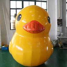 2017 PVC 0.6mm giant inflatable pool duck float giant inflatable promotion duck