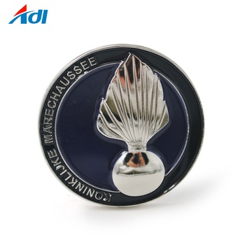 Custom 3D Souvenir Commemorative Metal Enamel Challenge Coinds
