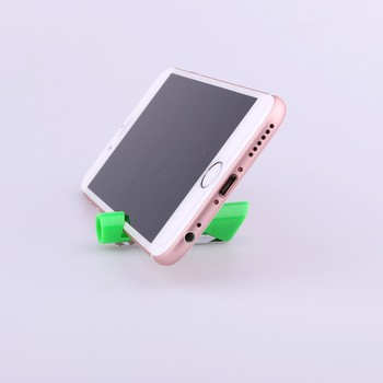 New design Novelty mobile phone stand plastic ball pen