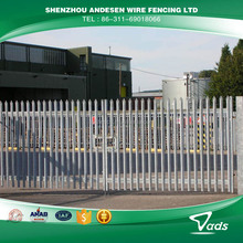 steel palisade fence designs for residential