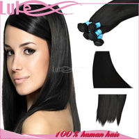 Fast Delivery Cheap Malaysian Virgin Natural Straight Human Hair Extension For White Women