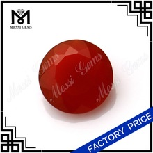 semi preciouse red 8.0mm agate stone
