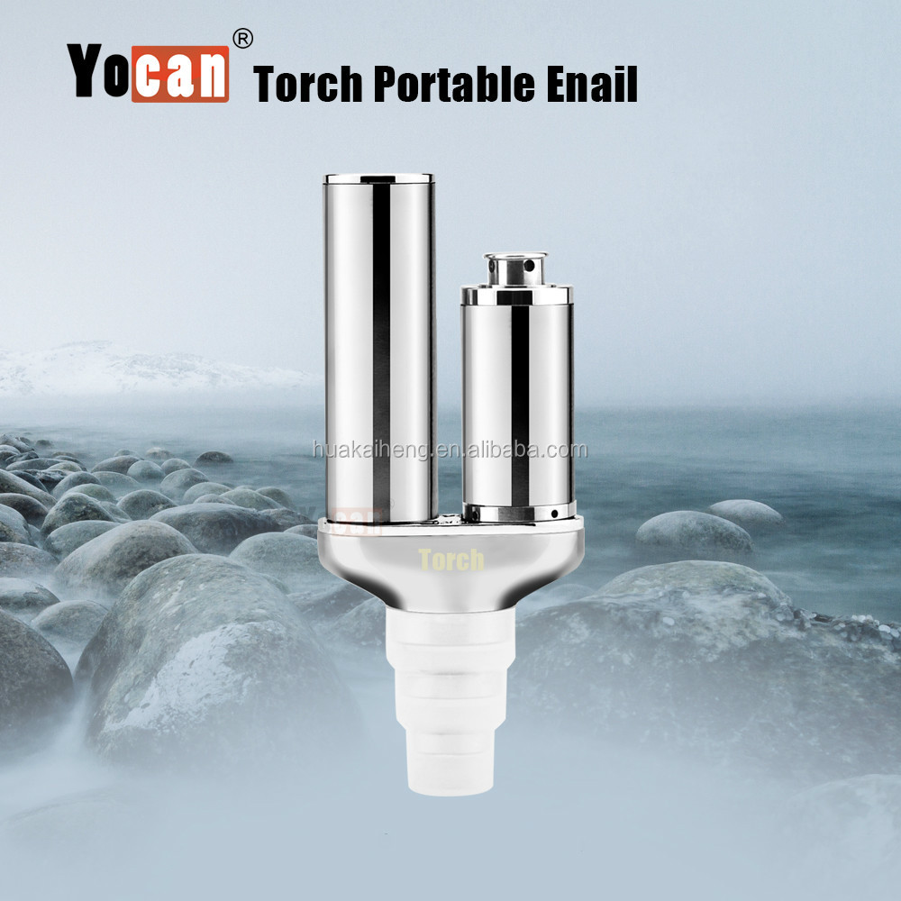 2017 Hot Nail wax vaporizer Origianl Yocan Torch water pipes glass smoking for dry wax atomizer