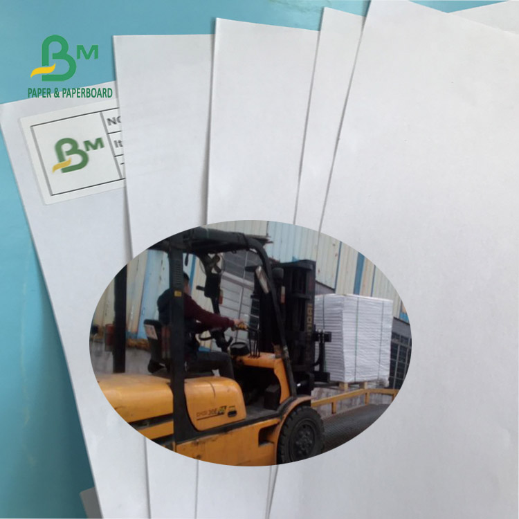 High Whiteness 60G 70G 80G Uncoated Woodfree Paper Offset Paper with 610 * 860mm FSC Certified