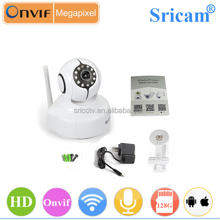 Sricam SP011 2 way audio wifi night vision mini motion sensor security camera touch screen mobile phone without camera