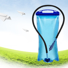 2L PEVA Wide Mouth Hydration Drinking Water Bladder Bag for Sports Hiking Camping Portable Cycling Bicycle Backpack