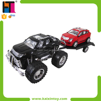 Kids Vehicle Toys Plastic Model Trucks With Small Car
