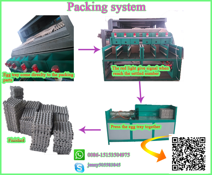 semi-automatic smallpaper egg tray machine price/egg dishes making machine