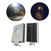 Outdoor IP65 aluminum alloy body YTH tech motion sensor Lithium Battery LED All-in-One solar light/lamp/lantern/burner