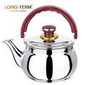 S/S 201 Color Bakelite Handle Stainless Steel Water Whistling Tea Kettle