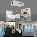 Detian Offer cheaper 20x30ft trade show design exhibition booth in aluminium