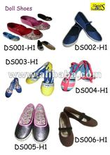 Straps and Buckles - Doll Shoes