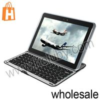 Aluminium Alloy Wireless Bluetooth Keyboard for Samsung Galaxy Note 10.1 N8000
