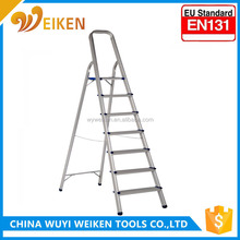 trestle ladder/ aluminum step ladder with handrail